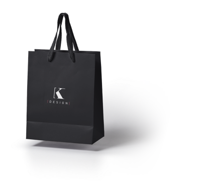 K-design shopping bag