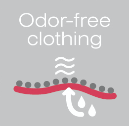 The power of silver - Odor Free Clothing